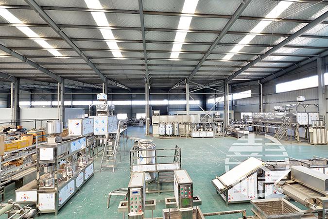 豆腐机厂家的厂房图片