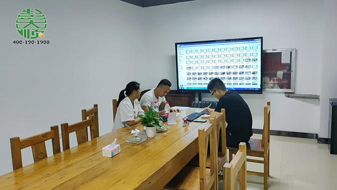 彭大顺于安徽六安客户达成合作协议
